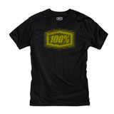 100% Buzz T-Shirt Black/Yellow
