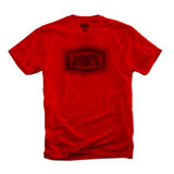 100% Buzz T-Shirt Red/Black