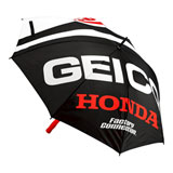 100% Geico/Honda Flare Umbrella Black