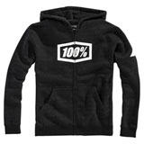 100% Youth Syndicate Zip-Up Hooded Sweatshirt