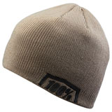 100% Essential Beanie Warm Grey