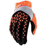 100% Airmatic Gloves Orange/Black