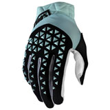 100% Airmatic Gloves Sky Blue/Black