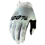 100% iTRACK Gloves White Camo