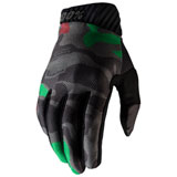 100% Ridefit Gloves Black Camo