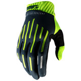 100% Ridefit Gloves Fluo Yellow/Charcoal