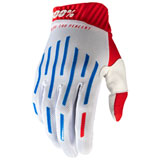 100% Ridefit Gloves Red/White/Blue