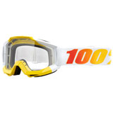 100% Accuri Goggle Astra Frame/Clear Lens