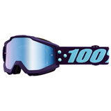 100% Accuri Goggle Maneuver Frame/Blue Mirror Lens