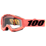 100% Accuri Goggle Rogen Frame/Clear Lens