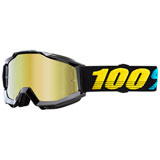 100% Accuri Goggle Virgo Frame/Gold Mirror Lens