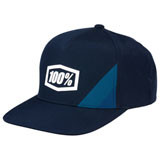 100% Cornerstone Snapback Trucker Hat Navy