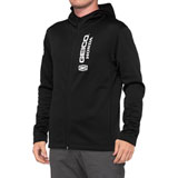 100% Geico/Honda Aeronaut Zip-Up Hooded Jacket