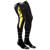 100% Rev Knee Brace Socks Black/Yellow