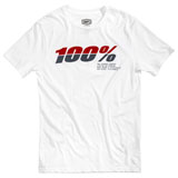100% Bristol T-Shirt White
