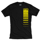 100% Comet T-Shirt Black/Yellow