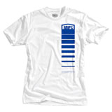 100% Comet T-Shirt White/Blue