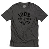 100% Evolve T-Shirt Charcoal Heather