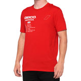 100% Geico/Honda Outlier T-Shirt Red