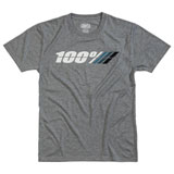 100% Motorrad Tech T-Shirt Grey Heather