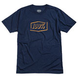 100% Phantom Tech T-Shirt Navy Heather