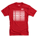 100% Slot T-Shirt Red/White