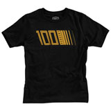 100% Youth Pulse T-Shirt Black