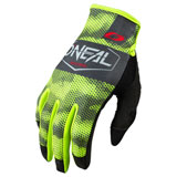 O'Neal Racing Mayhem Covert Gloves Charcoal/Neon