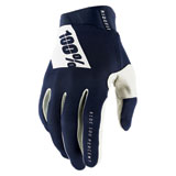 100% Ridefit Gloves Navy/White