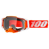 100% Armega Goggle Regal Frame/Clear Lens