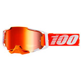 100% Armega Goggle Regal Frame/Red Mirror Lens