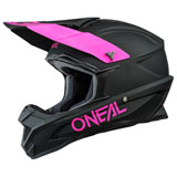 O'Neal Racing 1 Series Helmet Black/Pink
