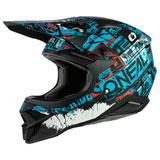 O'Neal Racing 3 Series Ride Helmet Black/Blue