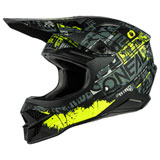 O'Neal Racing 3 Series Ride Helmet Black/Neon Yellow