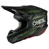 O'Neal Racing 5 Series Covert Helmet Black/Green