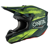 O'Neal Racing 5 Series Covert Helmet Charcoal/Neon