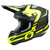 O'Neal Racing 5 Series Sleek Helmet Black/Neon Yellow