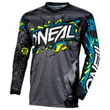 O'Neal Racing Youth Element Villain Jersey Grey