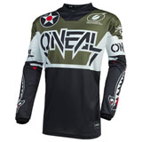 O'Neal Racing Element Warhawk Jersey Black/White/Green