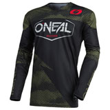 O'Neal Racing Mayhem Lite Covert Jersey Black/Green