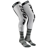 100% Rev Knee Brace Socks Grey