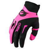 O'Neal Racing Women's Element Gloves Black/Pink