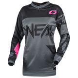 O'Neal Racing Women's Element Jersey 2021 Grey/Pink