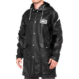 100% Torrent Mechanics Raincoat Black