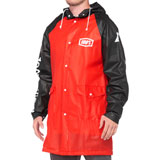 100% Torrent Mechanics Raincoat Red/Black