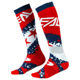 O'Neal Racing Pro MX Print Socks Stars