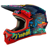 O'Neal Racing Youth 1 Series Rex Helmet Multi