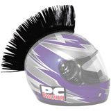 PC Racing Helmet Mohawk