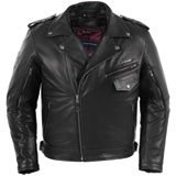 Pokerrun Outlaw 2.0 Leather Motorcycle Jacket