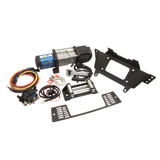 Polaris HD Integrated Winch with Mount Plate